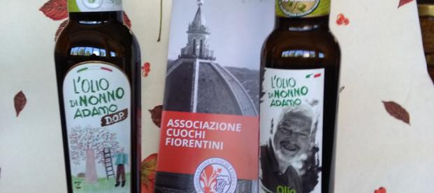 Olio in degustazione a seduta chef fiorentini
