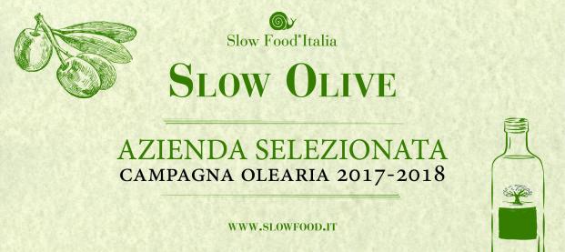 Azienda è stata selezionata da Slow Food Italia